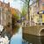 Hollandia · kilátás · építészet · égbolt · víz · felhők - stock fotó © neirfy