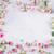 fehér · rózsaszín · szirmok · szürke · copy · space · virágminta - stock fotó © neirfy