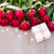 regalo · flores · naturales · primer · plano · caja · de · regalo · oscuro - foto stock © neirfy
