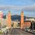Barcelona · alkonyat · kilátás · Spanyolország · épület · város - stock fotó © neirfy