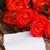 赤いバラ · 白 · 木製のテーブル · 日 · 女性 - ストックフォト © neirfy