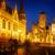 schemering · een · stad · Europa · huis · bouw - stockfoto © neirfy