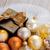 christmas · decoraties · geschenkdoos · gouden · houten · gelukkig - stockfoto © neirfy