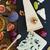 チーズ · セット · ブドウ · ナッツ · スペース - ストックフォト © neirfy