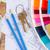 arquitetura · projeto · escritório · tabela · ferramentas · teclas - foto stock © neirfy