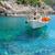 részlet · tengerpart · sziget · Görögország · szeles · nap - stock fotó © neirfy