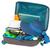 bőrönd · trópusi · tengerpart · nyár · óceán · kék · homok - stock fotó © neirfy