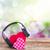ロマンチックな · 音楽 · 2 · ピンク · 赤 · 心 - ストックフォト © neirfy