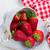 fraise · panier · isolé · blanche · alimentaire - photo stock © neirfy