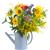 デイジーチェーン · 花 · 青 · ガラス · ポット · 春 - ストックフォト © neirfy