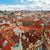 prague spires from above stock photo © neirfy