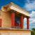 palota · részlet · ősi · retro · fal · festmény - stock fotó © neirfy