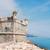 colorido · ciudad · playa · arquitectura · vista · frontera - foto stock © neirfy