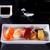 Японский · суши · блюдо · черный · копия · пространства · обеда - Сток-фото © neirfy