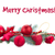fir tree branch and red christmas decorations stock photo © neirfy