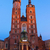базилика · Краков · Польша · зима · день · здании - Сток-фото © neirfy