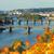 görmek · köprüler · panorama · Prag · gökyüzü · su - stok fotoğraf © neirfy