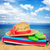 солнечные · ванны · соломы · сумку - Сток-фото © neirfy