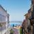 Lisboa · barrio · antiguo · Portugal · mujer · caminando · calle - foto stock © neirfy