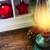 Natale · candela · brucia · evergreen · buio - foto d'archivio © neirfy