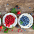frescos · frambuesa · hojas · fondo · rojo · planta - foto stock © neirfy