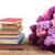 książki · kwiat · odizolowany · biały · papieru · liści - zdjęcia stock © neirfy