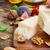 kerstomaatjes · parmezaanse · kaas · voedsel · rijp · houten - stockfoto © neirfy