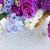 colorido · lila · flores · cesta · jardín · mesa - foto stock © neirfy