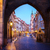 entrance to hradcany old town at night prague stock photo © neirfy