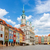 old market square in poznan poland stock photo © neirfy