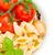 raw italian pasta in plate stock photo © neirfy