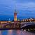 ponte · Paris · França · noite · edifício · viajar - foto stock © neirfy
