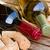 два · бутылок · вино · деревенский · подоконник · весны - Сток-фото © neirfy