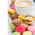 pile of macaroons and coffee stock photo © neirfy