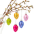 colorful hanging easter eggs stock photo © neirfy