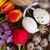 flores · da · primavera · ovos · de · páscoa · primavera · fresco · jacinto · tulipa - foto stock © neirfy