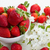 pile of strawberries with spring twigs stock photo © neirfy