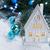 christmas · domu · dekoracji · światła · biały - zdjęcia stock © neirfy