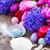 húsvéti · tojások · fészek · toll · húsvét · levél · tojás - stock fotó © neirfy