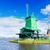 holandés · viento · paisaje · molino · de · viento · río · primavera - foto stock © neirfy