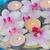 ardor · velas · orquídeas · flores · agua · spa - foto stock © neirfy