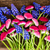 muscari and daisy flowers stock photo © neirfy