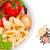 İtalyan · gıda · malzemeler · makarna · domates · otlar · baharatlar - stok fotoğraf © neirfy