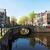 evler · Amsterdam · Hollanda · taş · köprüler · kanal - stok fotoğraf © neirfy