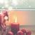 Рождества · сцена · подоконник · сжигание · свечу - Сток-фото © neirfy