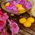 spa · houten · tafel · orchidee · bloemen · kaarsen · gezondheid - stockfoto © neirfy