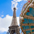 carrousel · Tour · Eiffel · parc · Paris · ville · soleil - photo stock © neirfy
