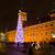 castle square at night warsaw poland stock photo © neirfy