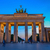 brandenburg gate at night berlin stock photo © neirfy