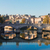 bridge and tiber river in rome italy stock photo © neirfy